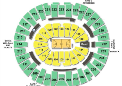 Crisler Center Seating Chart