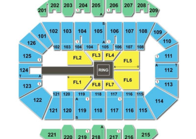 Crown Complex Seating Chart WWE