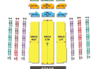 David Geffen Hall Seating Chart Classical Orchestral Instrumental