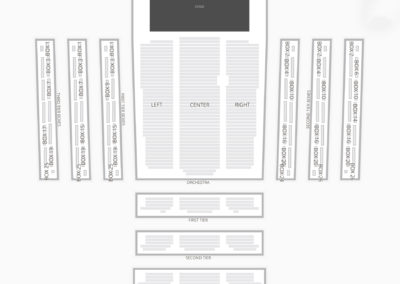 David Geffen Hall Seating Chart Theater
