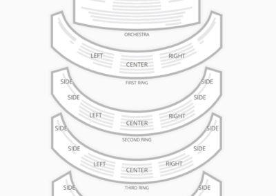 David H Koch Theater Seating Chart