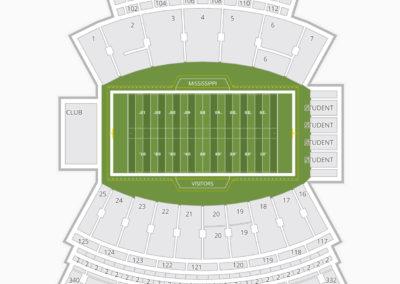Davis Wade Stadium Seating Chart
