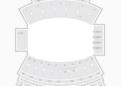 Davis Wade Stadium Seating Chart Concert