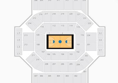 Dayton Flyers Basketball Seating Chart