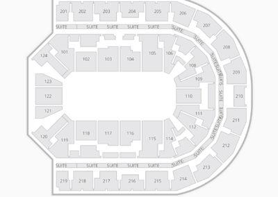 Denny Sanford Premier Center Seating Chart