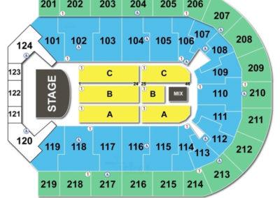Denny Sanford Premier Center Seating Chart Concert
