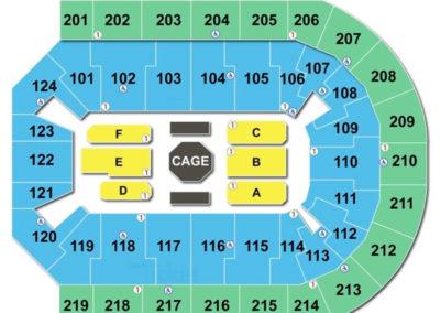Denny Sanford Premier Center Seating Chart UFC