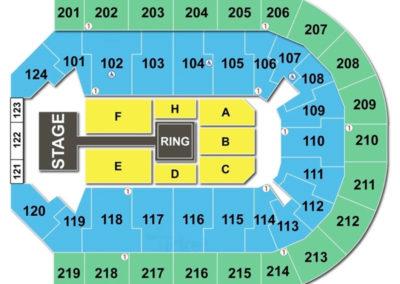 Denny Sanford Premier Center Seating Chart WWE