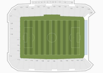 Dick's Sporting Goods Park Seating Chart