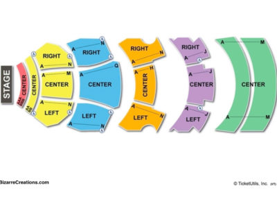Dolby Theatre Seating Chart Concert