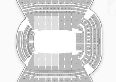 Donald W. Reynolds Razorback Stadium Seating Chart Concert