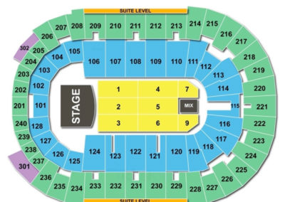 Dunkin' Donuts Center Concert Seating Chart