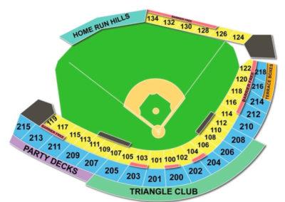 Durham Bulls Athletic Park Seating Chart