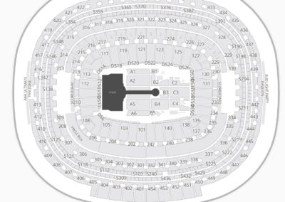 FedEx Field Seating Chart Concert