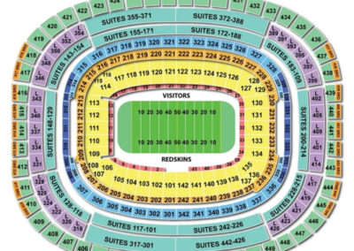 FedEx Field Football Seating Chart