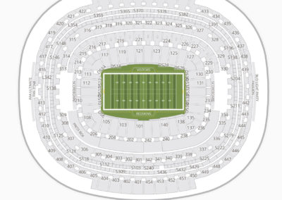 FedEx Field Seating Chart Fedex Way