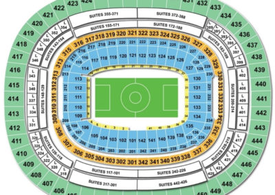 FedEx Field Soccer Seating Chart