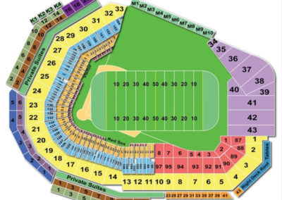 Fenway Park Football Seating Chart