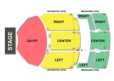 Fillmore Miami Beach Seating Chart