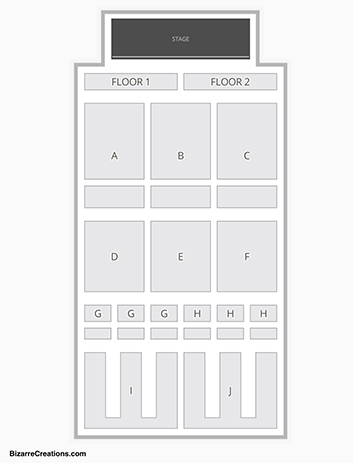 FireKeepers Casino Seating Chart