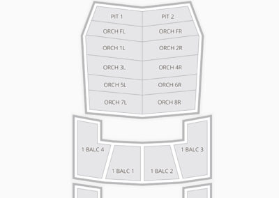 FirstOntario Concert Hall Seating Chart