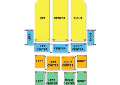 Fisher Theatre Seating Chart Detroit