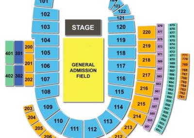 Folsom Field Concert Seating Chart