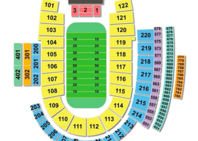Folsom Field Football Seating Chart