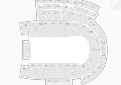 Folsom Field Seating Chart Concert