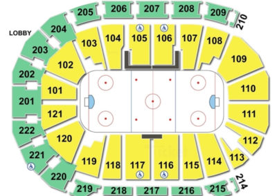 Ford Center Seating Chart Hockey