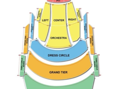 Appleton PAC Seating Chart