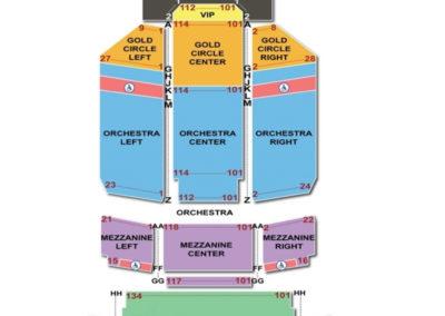 Riverside Seating Chart