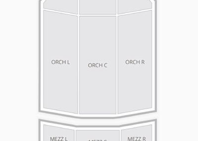 Fox Performing Arts Center Seating Chart Riverside