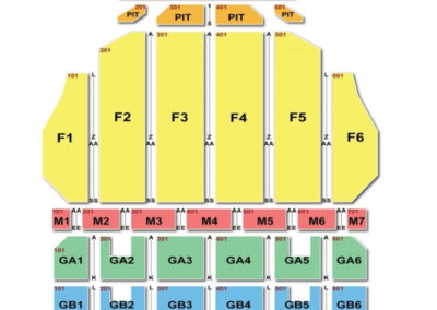 Fox Theater Detroit Seating Chart