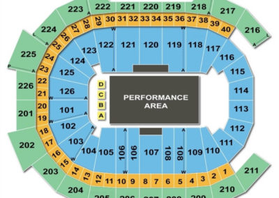Giant Center Seating Chart Circus