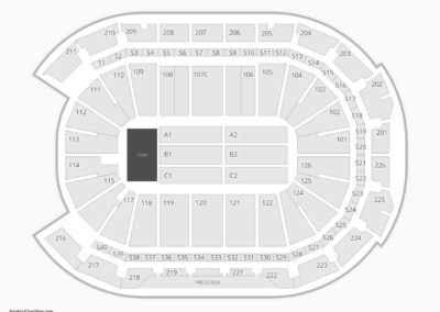 Giant Center Seating Chart Concert