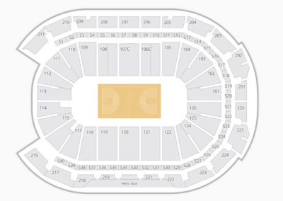 Giant Center Seating Chart Family