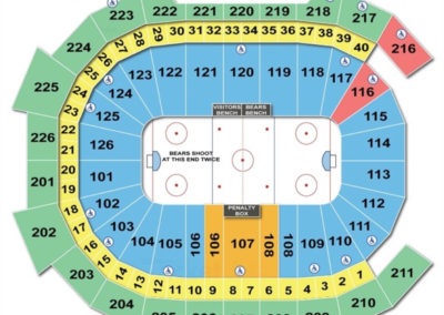 Giant Center Seating Chart Hockey
