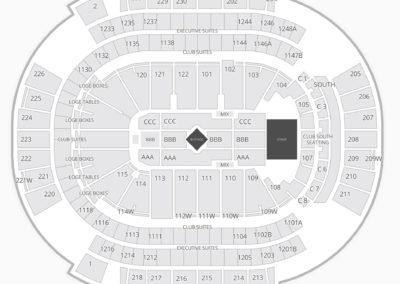 Gila River Arena Concert Seating Chart
