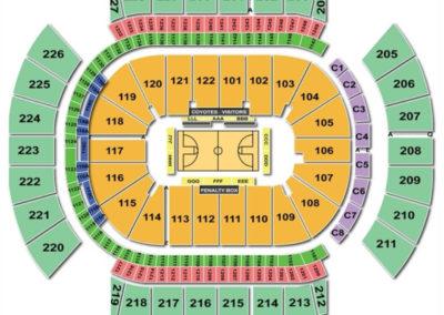 Gila River Arena Seating Chart Basketball