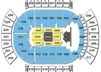 Gila River Arena Seating Chart Boxing