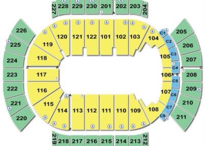 Gila River Arena Seating Chart Circus