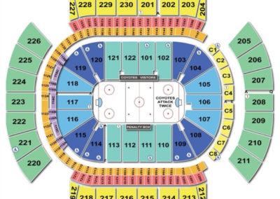 Gila River Arena Seating Chart Hockey