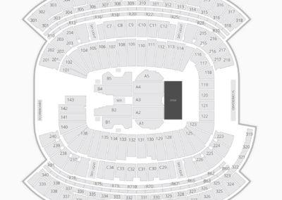 Gillette Stadium Concert Seating Chart