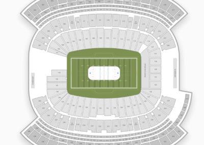 Gillette Stadium Seating Chart NHL