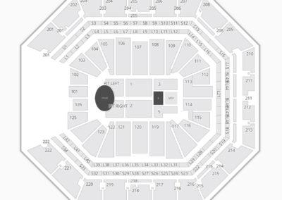 Golden 1 Center Concert Seating Chart