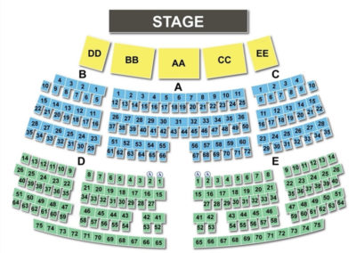 Grand Sierra Theatre Seating Chart Nevada