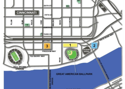 Great American Ball Park Parking Lots