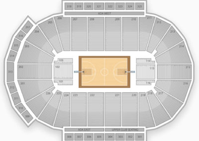 Green Bay Phoenix Basketball Seating Chart
