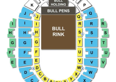 Hampton Coliseum Seating Chart Bull Riding